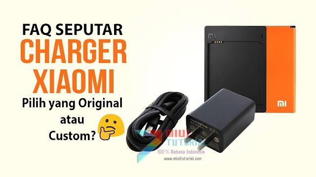 FAQ Seputar Charger Bawaan Xiaomi: Pilih yang Original atau Custom Pihak Ketiga? Aukey, Anker, TronSmart
