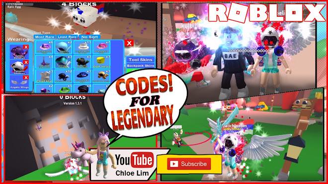 Chloe Tuber Roblox Mining Simulator Gameplay 3 Codes For