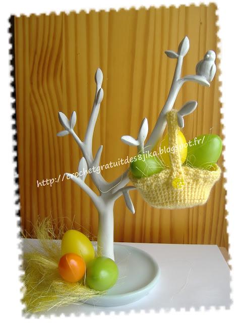 Décoration de Pâques au crochet