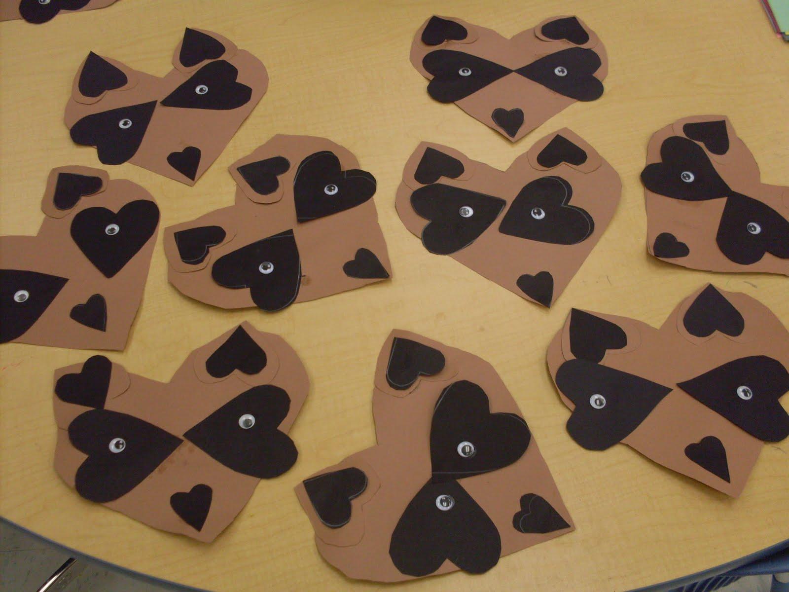 kindergarten days: Kissing Hand Fun