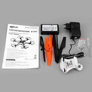 Harga Drone 6 Baling Baling, Helicute Hoverdrone Evo Paling Laris Di Pasaran