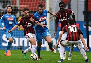 اهداف ونتيجة مباراة ميلان ونابولي 2-0 كأس ايطاليا اليوم 29/1/2019 AC Milan vs Napoli