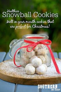 Low Fat Gluten Free Snowball Cookies Recipe