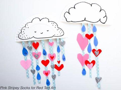 http://www.redtedart.com/paper-plate-cloud-showering-love/
