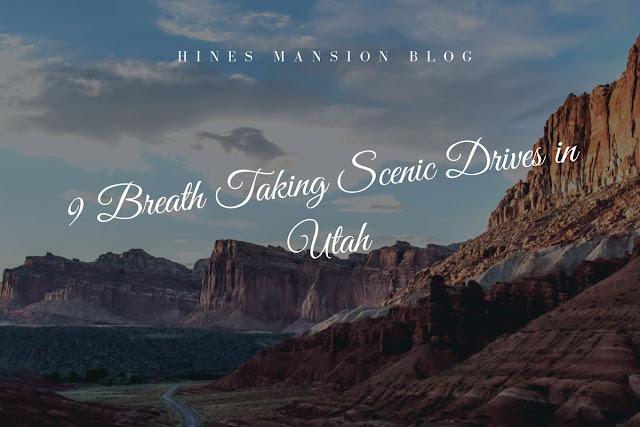 9 Breath-Taking Scenic Drives in Utah blog cover