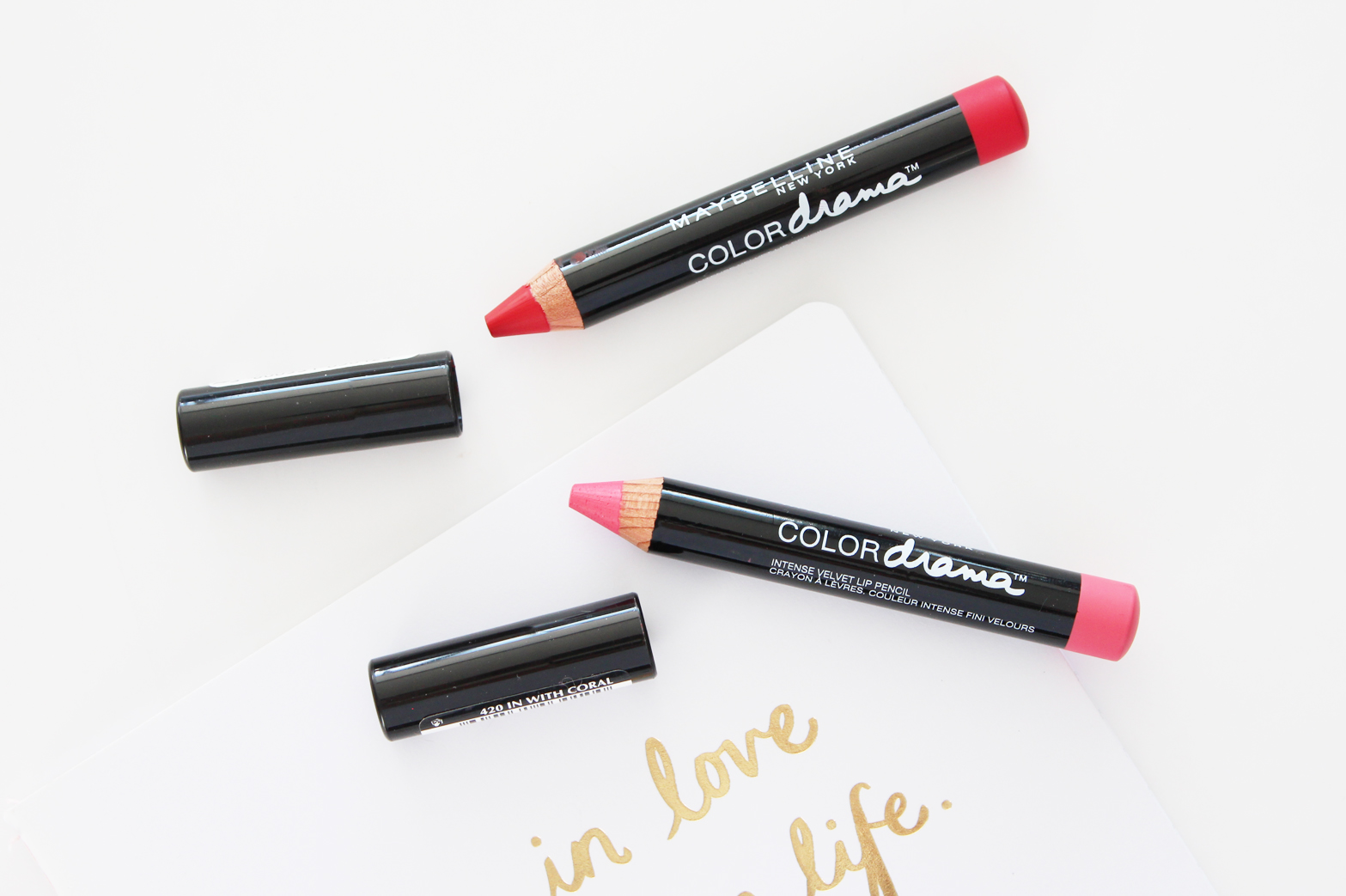 MAYBELLINE | Color Drama Intense Velvet Lip Pencils Review + Swatches - CassandraMyee