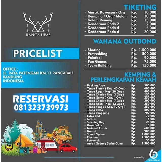 Harga Tiket Masuk Kampung Cai Rancaupas Ciwidey Bandung 2017