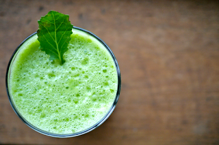 Paleo green juice recipe : Post workout meal