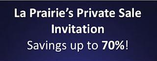 La Prairie's Private Sale 2016