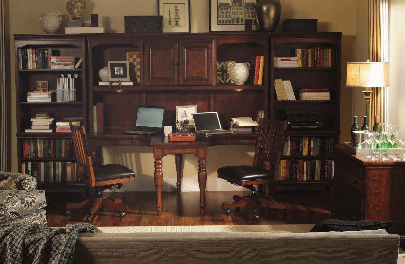 City Liquidators Get The Look Sophisticated Home Office