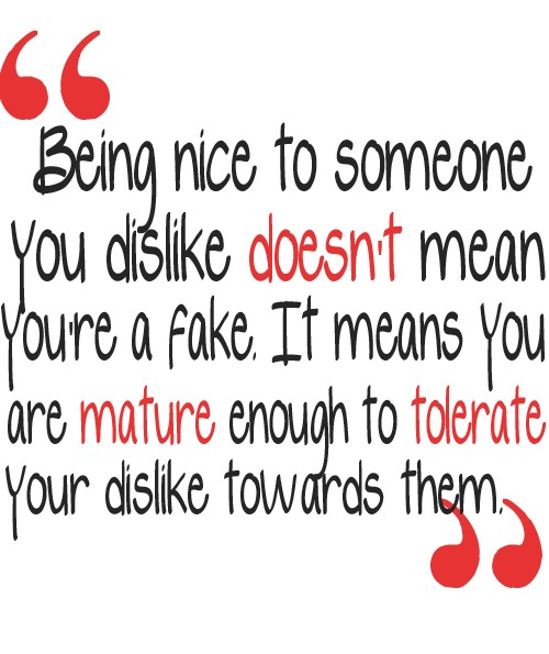 Quotes About Being Too Nice