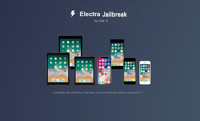 Jailbreak iOS 11 Using Electra with Cydia