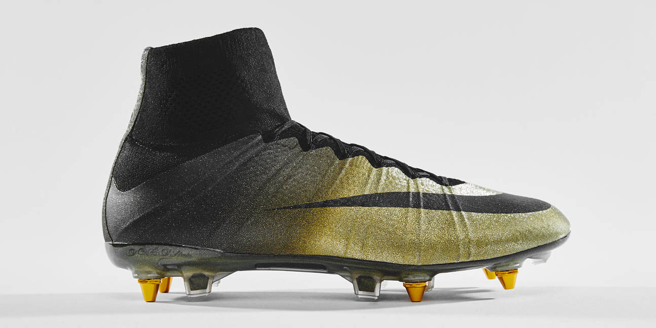 new arrival b91c4 abb64 ... Limited to 333 pairs worldwide, the Nike Mercurial Superfly CR7 Rare  Gold Boots are already ...