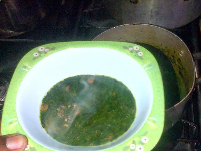 Ewedu soup