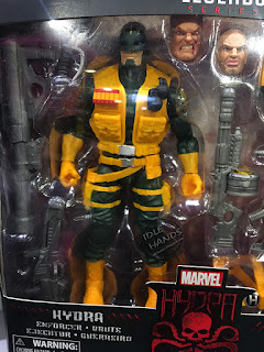 Hascon 2017 Hasbro Marvel Legends Action Figures HYDRA army builder pack