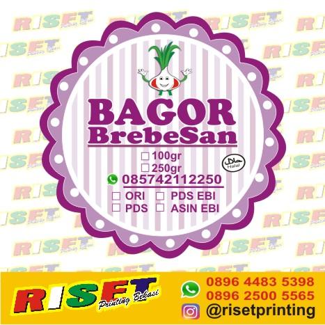 Gambar Stiker Makanan Syujak Jasa Sampul Buku Tinggouw Desain