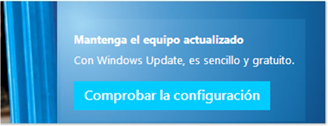 Actualiza tu Sistema Operativo - Windows Update