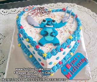 Kue Tart Stitch Lucu Murah