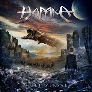 "Hamka - ""Earth's Call"" (lyric video) from the album ""Multiversal"""