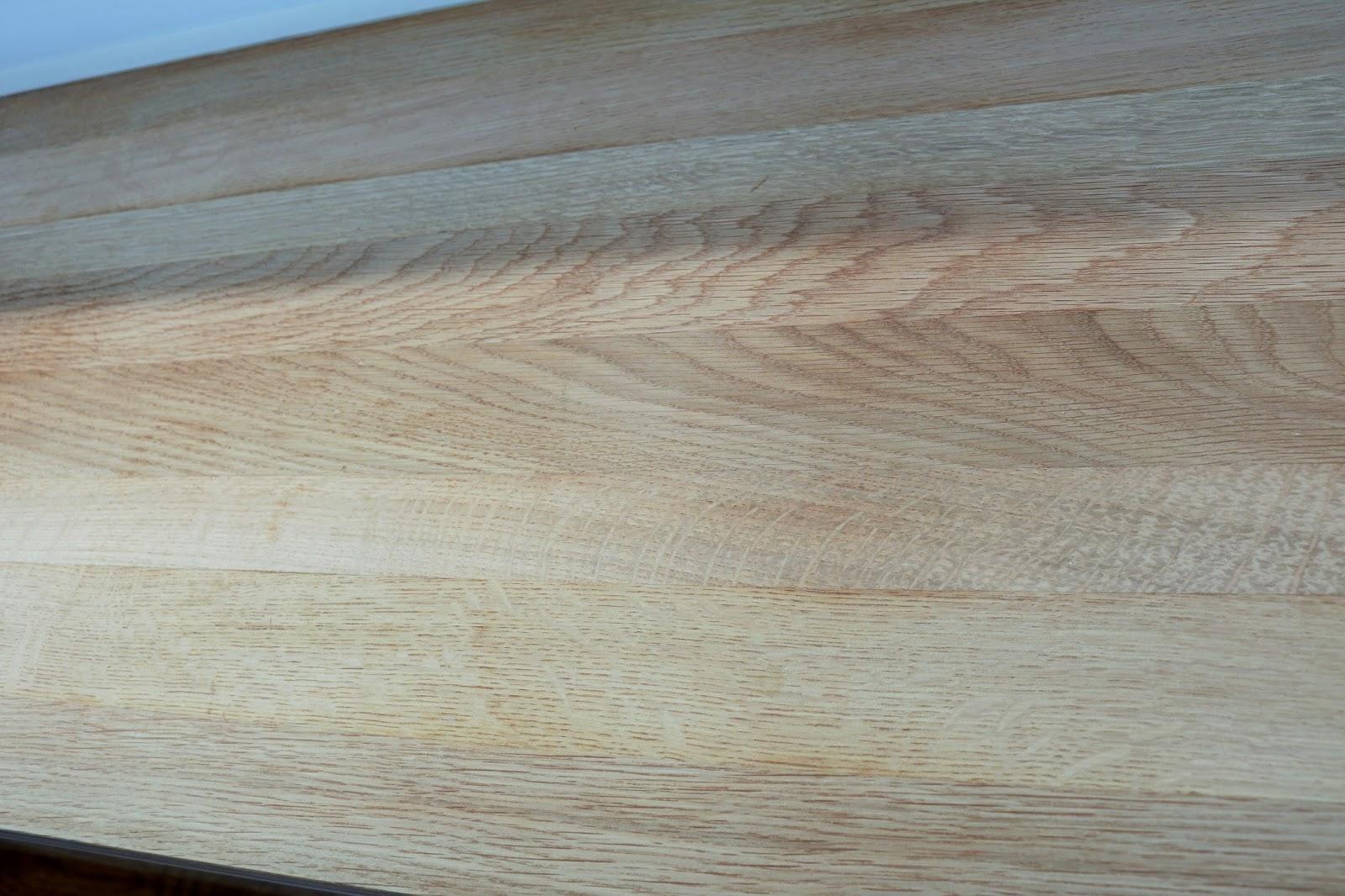 czym czyścić blat drewniany