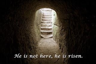 Jesus is alive, He is risen