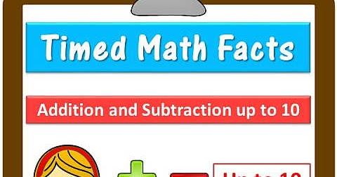 Elementary Studies: Fact Fluency