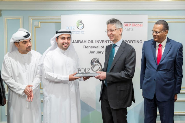 Fujairah Engages S&P Global Platts in Long-term Agreement  to Distribute Weekly Inventory Storage Data