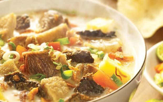 Resep dan Cara Membuat Soto Daging Khas Betawi Enak