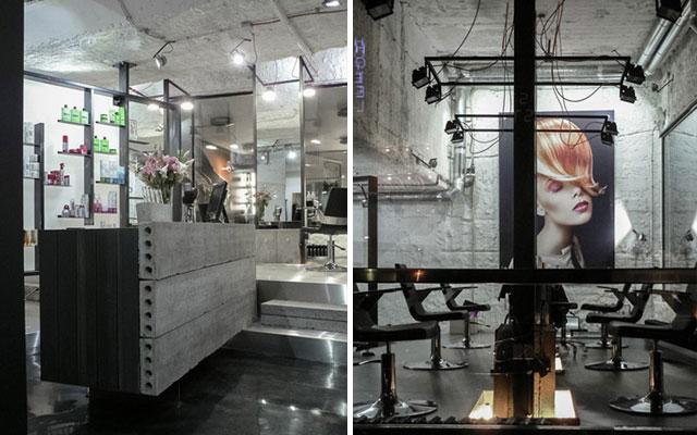 Marzua peluquer as de dise o for Muebles para oficina estilo minimalista
