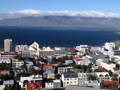 Iceland의 수도Reykjavik전경