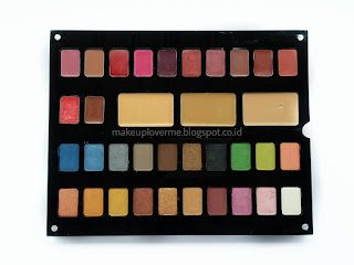 Review Inez Pallet Cosmetics (Luxury Pack)