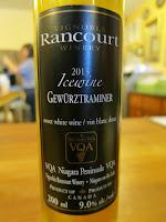 Rancourt Gewurztraminer Icewine 2013 - VQA Niagara Peninsula, Ontario, Canada (90+ pts)