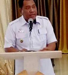 Kepala Dinas Perkim M Azmy Ismail