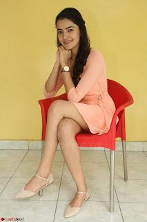 Rukshar Mir in a Peachy Deep Neck Short Dress 075.JPG