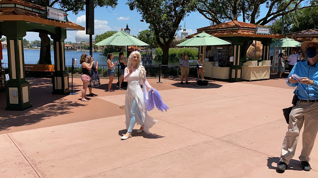 Character Cavalcades Frozen Promenade Phased Reopening EPCOT Walt Disney World Resort