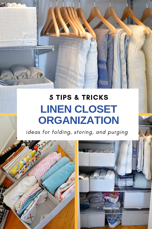 linen closet organization ideas, ideas for linen closet, how to store blankets