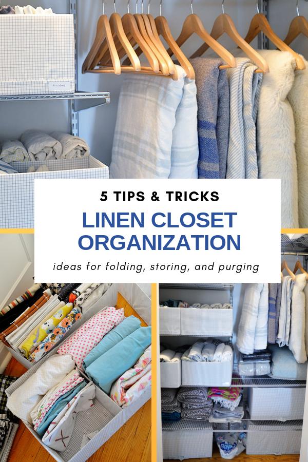 linen closet organization ideas, ideas for linen closet, how to store blankets