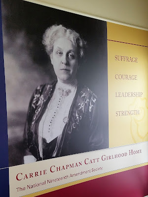 Carrie Chapman Catt: Iowan who went on to lead the Women's Suffrage Movement