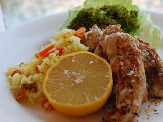 Var dags mat - Kyckling Masala med citronris, 4 port