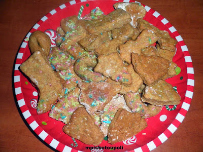 Christmas biscuits without sugar1
