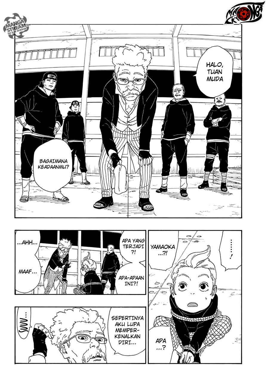 Manga Boruto Chapter 13 Bahasa Indonesia
