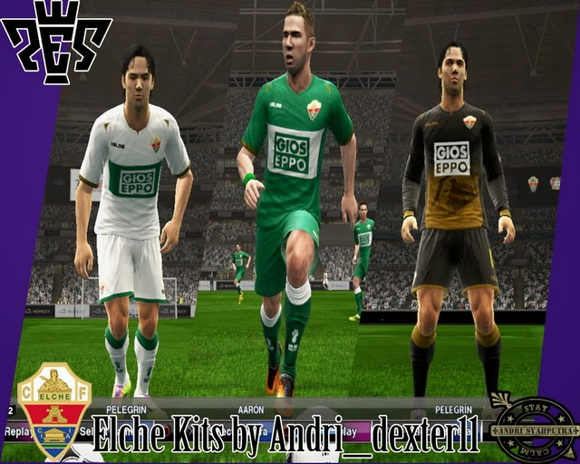 super popular 9b947 3b51e PES 2013 Elche 14-15 Kits By Andridexter11 ...