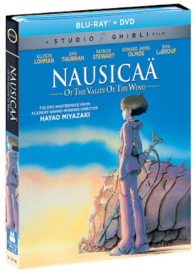 Studio Ghibli Blu-Ray Movies: Nausicaa of the Valley of Wind, Castle in the Sky