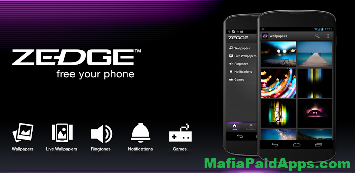 ZEDGE Ringtones & Wallpapers v5 4 6 Final (Ad Free) Apk