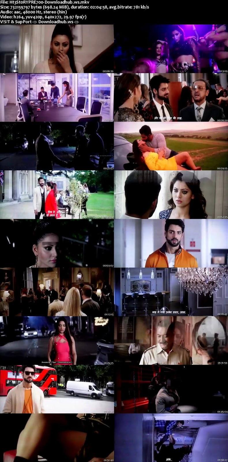 Hate Story 4 2018 Hindi 700MB Pre-DVDRip x264