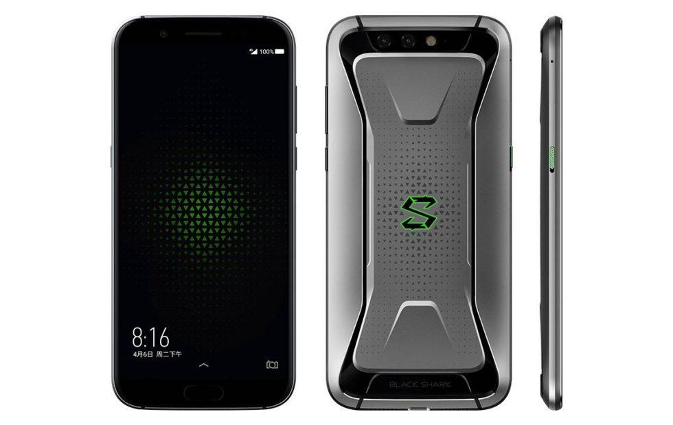Xiaomi Black Shark Grey Color Variant