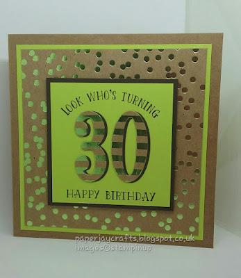 Paperjay Crafts, Foil Frenzy, Number of Years, Stampin Up