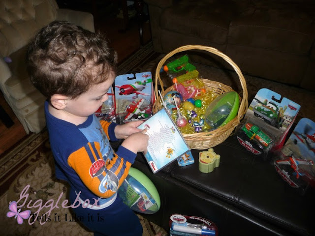 Easter, what the Easter bunny brought for Easter, Easter fun with family,