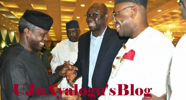 Osinbajo Can't Lie To Nigerians Because He Is A Pastor – Fayose