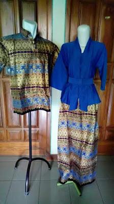 Kumpulan Model Baju Batik Sarimbit Lebaran Terbaru